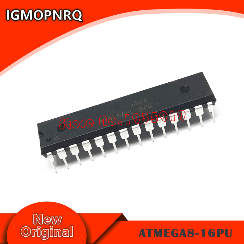 5PCS ATMEGA8-16PU ATMEGA8 DIP New And Original IC
