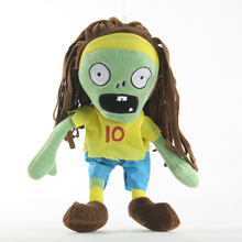 New Arrival Plants vs Zombies Plush Toys 30cm PVZ Sport Zombies Cosplay Plush Toy Soft Stuffed Toys