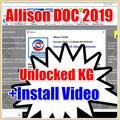 Горячая Распродажа 2020 года! Allison DOC 2019 2017 + генератор ключей + передача файлов GEN5 + forcat et 2019C + генератор ключей