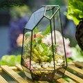 NCYP современный нерегулярный стеклянный цветочный горшок большой геометрический Террариум Сказочный Сад миниатюрный винтажный стеклянный...