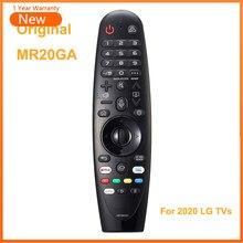 Nova voz original mr20ga magia controle remoto akb75855501 para lg ai thinq 4k smart tv nano9 nano8 zx wx gx cx série bx