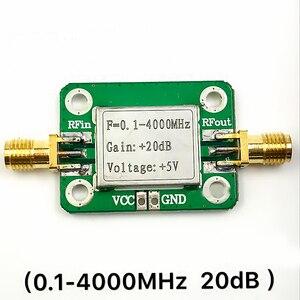Image 3 - Широкополосные радиочастотные усилители 0,1 4000 МГц, модуль усилителя микроволновой радиочастоты, Усилитель 20 дБ, модули платы LNA