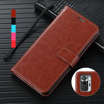 Etui na karty etui na telefon etui na Xiaomi Redmi Note 10 Pro Max Pu skórzane etui z klapką etui na telefon etui na pasek tanie i dobre opinie Bova CN (pochodzenie) holster Zwykły for Xiaomi Redmi Note 10 Pro Max High Support High Quality Pu Leather Case