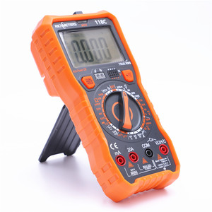 Image 3 - 20A multimètre numérique 6000 comptes testeur professionnel NCV HFE vrai RMS 100mF capacité tension ca/cc courant température outil