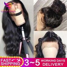 Dantel ön İnsan saç peruk 13X4 ön koparıp Remy brezilyalı vücut dalga dantel ön peruk kadınlar için bebek saç ile 150%