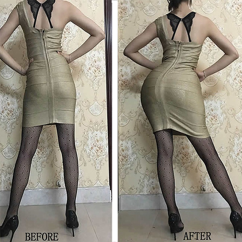 Image 5 - Crossdresser Butt Hip Enhancer Padded Shaper Panties Silicone Hip Pads Shemale Transgender Fake Ass Enhancer Underwear