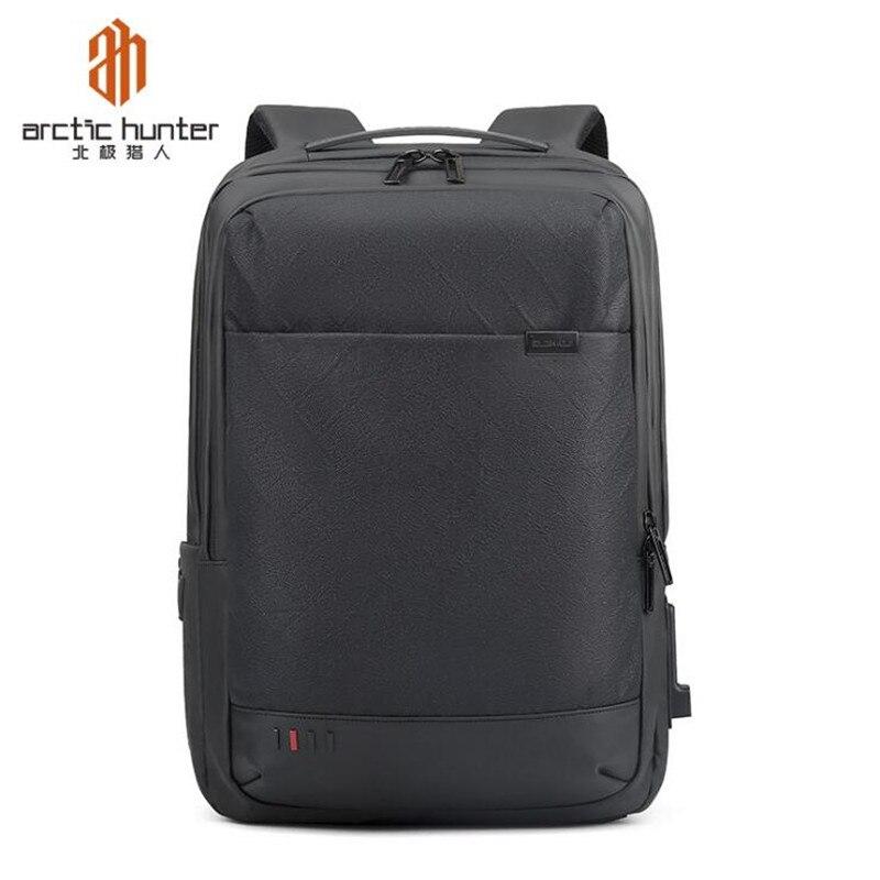 Arctic Hunter 2019 étanche 15.6 pouces sac à dos pour ordinateur portable Anti-vol hommes sacs à dos voyage adolescent sac à dos sac à dos homme mochila