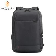 Arctic Hunter 2019 Waterproof 15.6inch Laptop Backpack Anti Theft Men Backpacks Travel Teenage bag male bagpack mochila