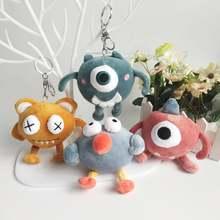 Новый большой глаз домашних животных стежка Плюшевые игрушки