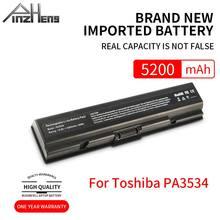 PINZHENG bateria do laptopa Toshiba PA3534 PA3534U PA3534U-1BAS PA3534U-1BRS z dostępem do kanałów satelitarnych A300 A500 L200 L300 L500 L550 L555