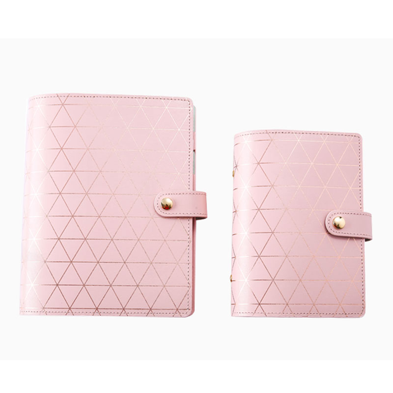 2020 Yiwi A5 A6 Hot Stamping Diamond Creative DIY Planner 6 Loose Leaf Binder Notebook Diary