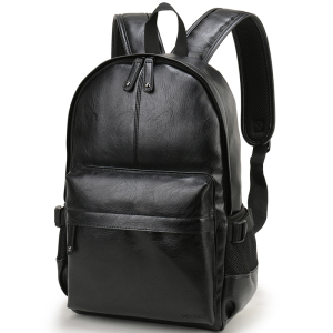 Image 5 - 2020 VORMOR Brand waterproof 14 inch laptop backpack men leather backpacks for teenager Men Casual Daypacks mochila male