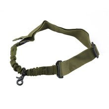 1pcs Tactical Single Point Adjustable Bungee Rifle Gun Sling System Strap Portable Hot Worldwide drop shipping magorui heavy duty tactical one single point sling adjustable bungee rifle gun sling strap