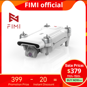 FIMI X8SE 2020 Camera Drone Quadcopter RC Helicopter 8KM FPV 3-axis Gimbal 4K Camera GPS RC Drone Quadcopter RTF Christmas gift
