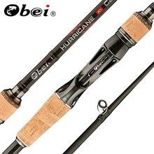 Obei HURRICANE 1.8/2.1/2.4/2.7/3.0m 3Section Baitcasting Fishing Rod Travel Ultra Light Casting Spinning Lure 5g 40g M/ML/MH Rod