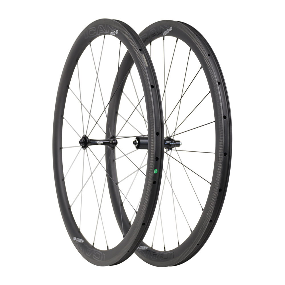 Aero super light carbon bike rim carbon road bike wheelset T800&T700 40C 25mm width bicycle road wheelset