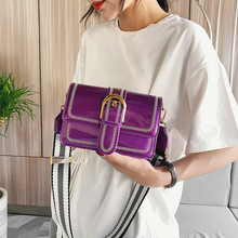 Shoulder-Bags Fashion Crossbody-Bag Trend Female Patent Leather Women for New Daily