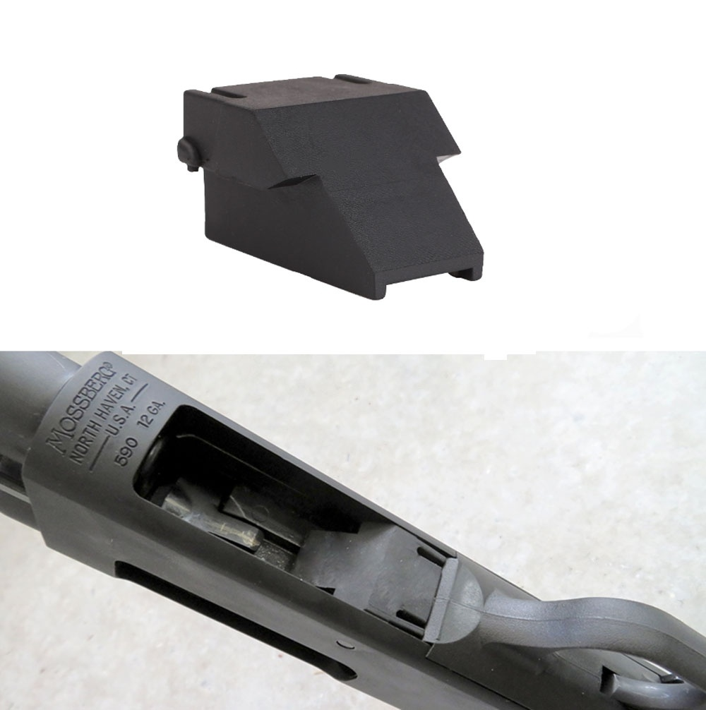 Magorui Tactical Mini-Clip Minishell Adapter Accessories For OPSol 12ga Mossberg 500 590 590A1 &Maverick 88 Model