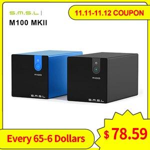 Image 1 - SMSL M100 MKII Digital USB DAC AK4452 DSD512 32bit/768kHz 106dB Optical SPDIF Aluminum desktop Audio XMOS Decoder