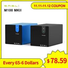 Smsl M100 Mkii Digitale Usb Dac AK4452 DSD512 32bit/768Khz 106dB Optische Spdif Aluminium Desktop Audio Xmos Decoder