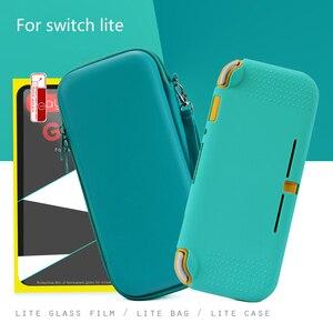 Image 2 - 닌텐도 스위치에 대 한 새로운 스토리지 가방 닌텐도 스위치 라이트 케이스에 대 한 미니 휴대용 여행 보호 가방 4 색 또는 4 세트
