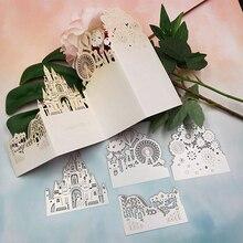Металлические Вырубные штампы для свадебных пригласительных открыток ремесло вырубной трафарет для скрапбукинга штампы и штампы наборы DIY рождественские украшения