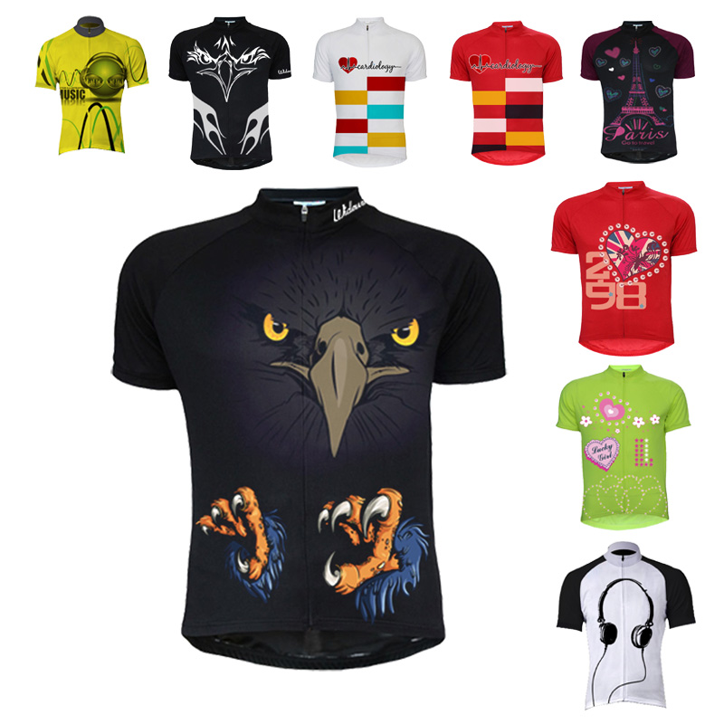 Cycling Jersey Top-Shirt Bike-Wear Ciclismo Retro-Style Maillot NEW Classic Summer Collection