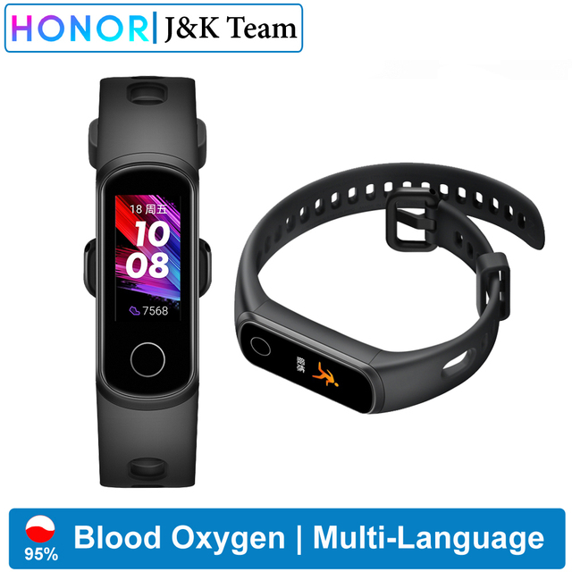 Huawei Honor band 5i الذكية الفرقة الدم الأكسجين المقتفي smartwatch القلب معدل المقتفي النوم المقتفي الموسيقى التحكم دعوة تذكير