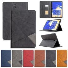Чехол для Samsung Galaxy Tab S4 2018 дюйма, Женский деловой кожаный чехол для Samsung Galaxy Tab S4 10,5, T830, T835, чехол