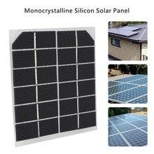 Cewaal солнечная панель 6 в 2 Вт Портативный Мини DIY модуль панели системы для батареи сотового телефона зарядные устройства портативный солнечный элемент