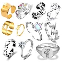 Кольцо для женщин и девочек браслеты с подвесками со смайликом, модные мужские ювелирные украшения, фон со старинными древними счастливой у...