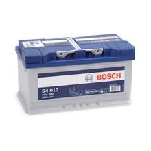 Bosch S4010 Batería de coche - 12 V 80Ah 740 A (EN)- Positivo a la Derecha - Medidas: 31,5 X 17,5 X 17,5
