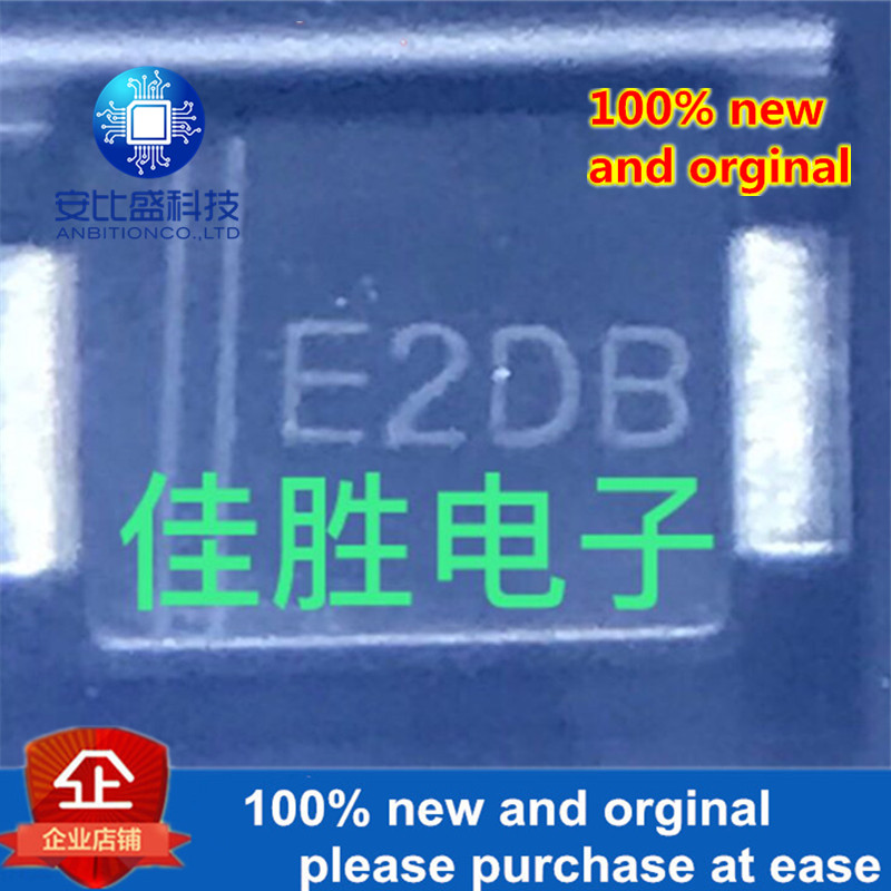 50pcs 100% New And Orginal ES2DBF 2A200V Ultrafast Recovery Patch Diode SMBF Silk-screen E2DB In Stock