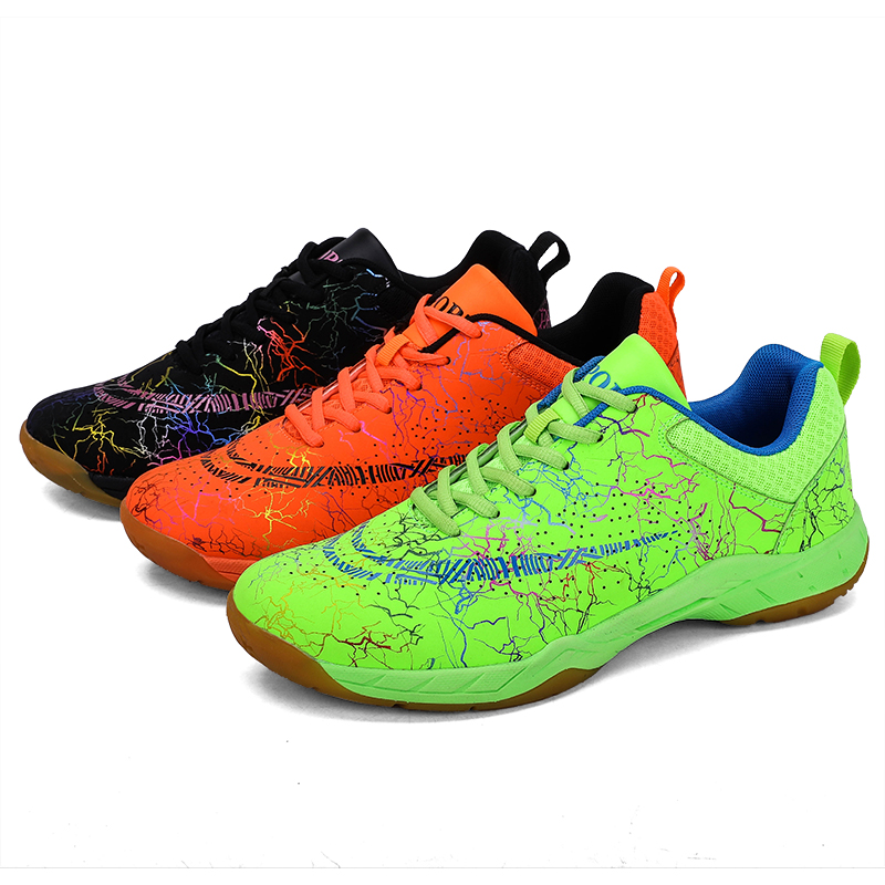 Professional Badminton Shoes 2019 Breathable Anti-Slippery Sport Shoes For Men Women Court Sneakers Ping Pong Tennis Trianers