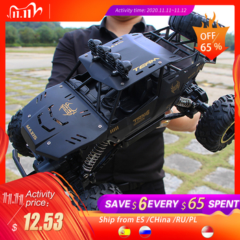Rc car 1:12 4WD high-speed off-road remote control car 2.4hz radio-controlled car off-road truck using 30 minutes rc toys