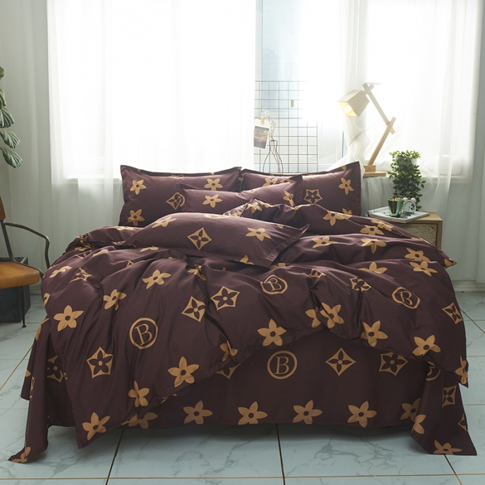 Bedding Sets Simple Color Green Bed Sheet Duver Quilt Cover Pillowcase Soft and Comfortable King Queen Full Twin|Bedding Sets| - AliExpress