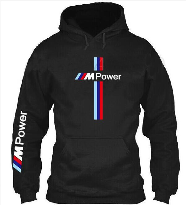 Motorsport for BMW M Power Print 2019 Autumn Fashion Men Brand top Casual Sweatshirt Solid Color Hoodie Jackets Male Hoodies Men