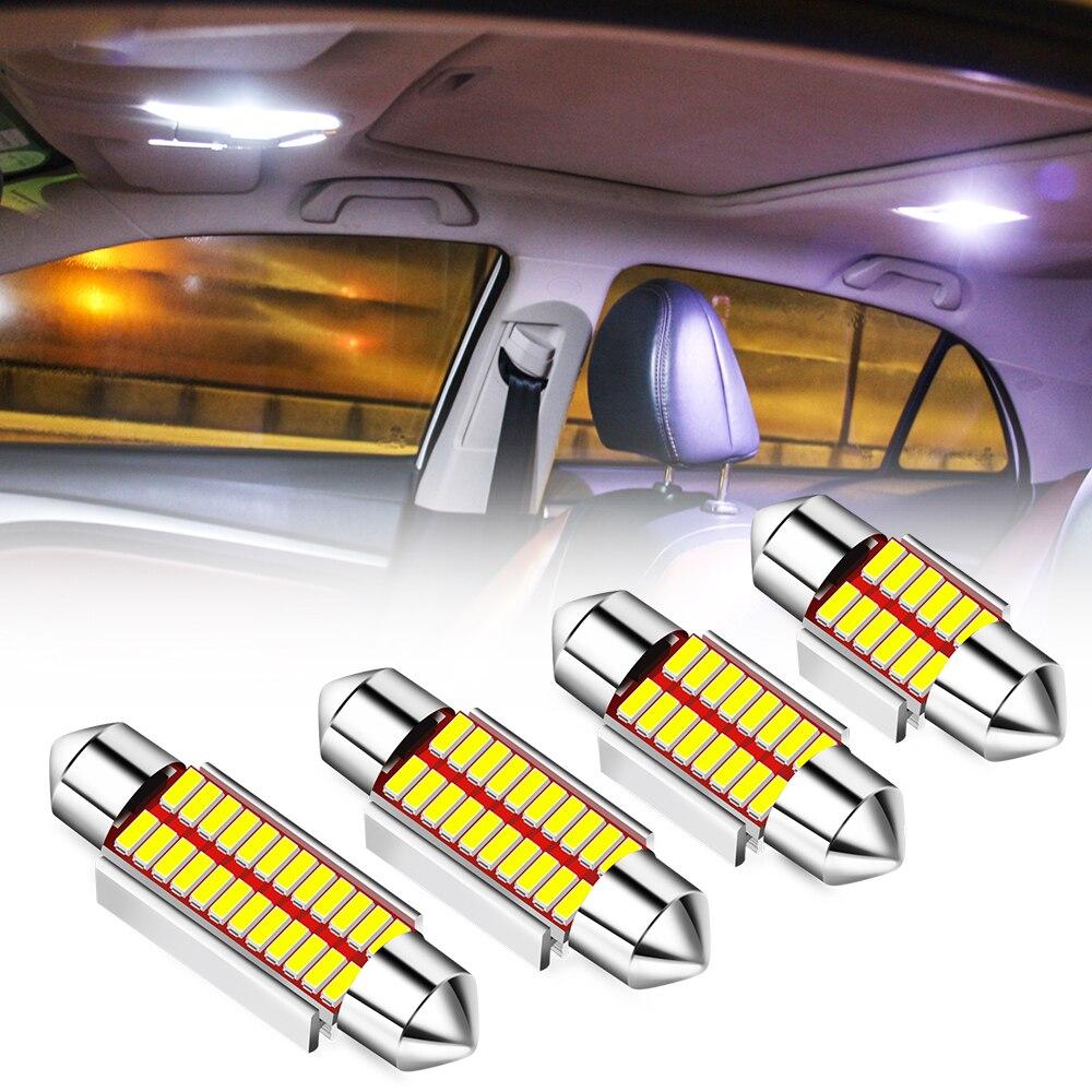 Bombilla LED C5W C10W Canbus Error gratuito Doom luz de la lámpara para Acura RLX CL EL RL CSX ILX MDX NSX RDX RL SLX TL TSX Vigor ZDX