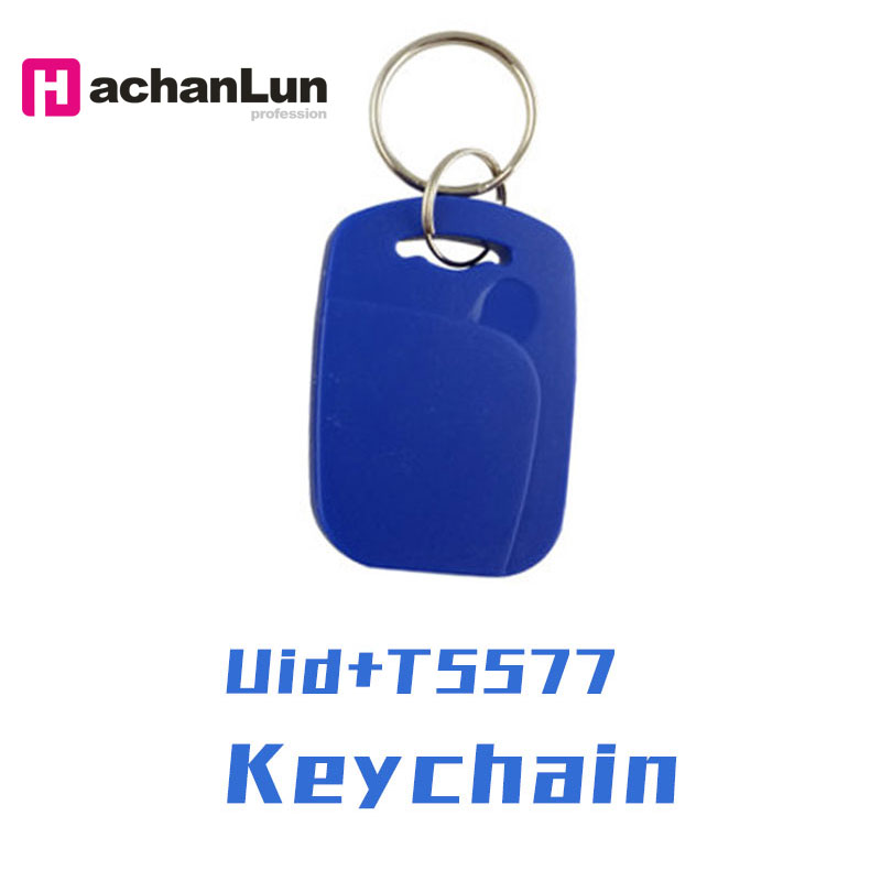 50PCS RFID Smart NFC Chip Card UID 5577 Dual Frequency Keychain 125KHZ EM4305 13.56MHZ Can Copy Erase The Access Card Repeatedly