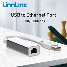 Usb ethernet адаптер unnlink usb 20 30 100 Мбит/с гигабитный