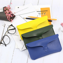 Unique PU Leather Glasses Bag 2019 New Design Retro Eyeglasses Handbag Women Sunglasses Storage Protection Ins  Eyewear Case
