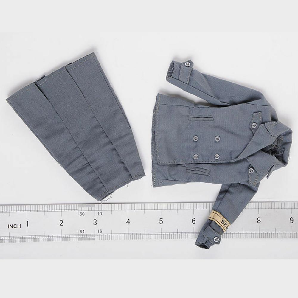 1//6 L/'Uomo Abbigliamento Leggings Pantaloni per 12 pollici DRAGO Maschio Costume da soldato Corpo