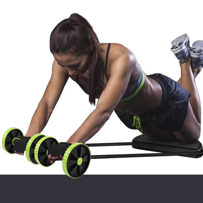 Power Roller ABS Beginners Men's And Women's Belly Roll Abdominal Machine Thin Waist Belly Abdominal Sports Fitness Equipment Ho
