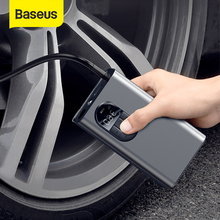Baseus Electric Inflatable Pump with SOS Light For Car Motorcycle Bicycle Tire Inflator Mini Wireless Car Air Compressor