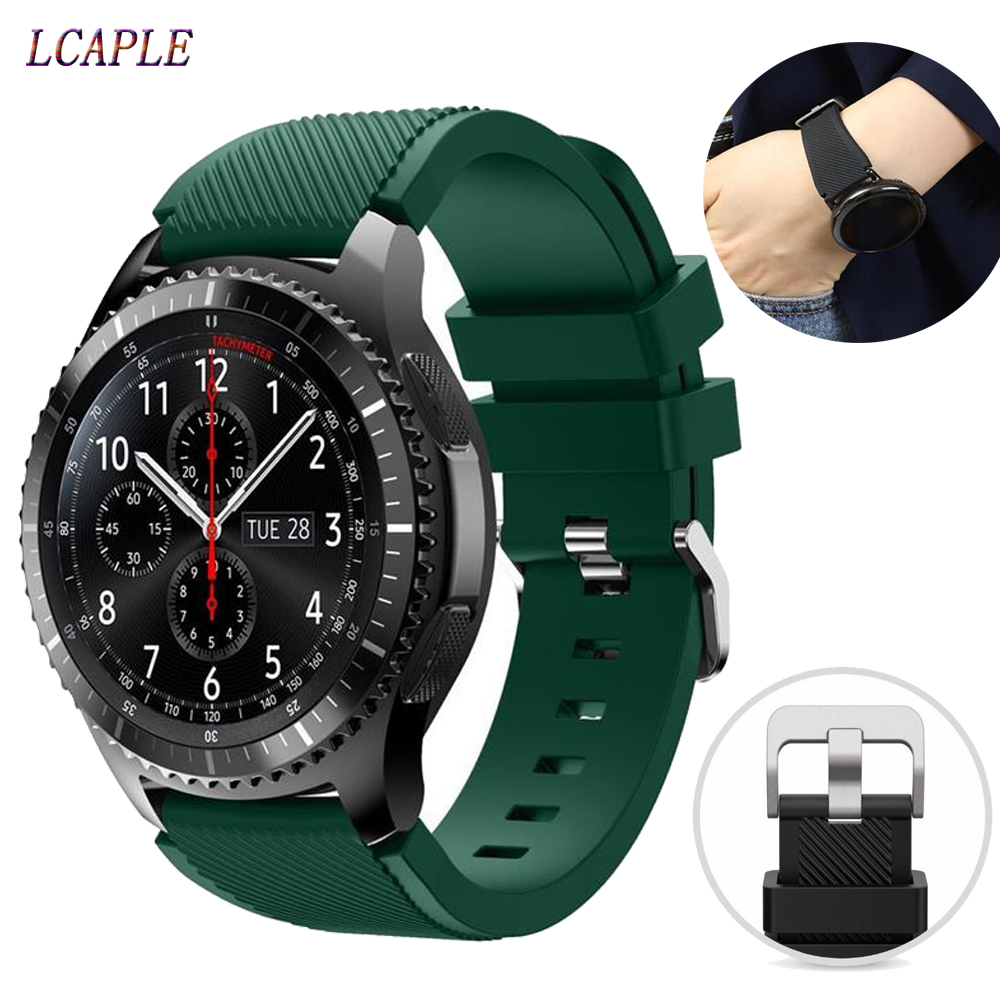 Strap For Huawei Watch GT 2 46mm Samsung Galaxy Watch Active 2 46mm 42mm Amazfit Bip Strap 20mm/22mm Watch Band Gear S3 Frontier
