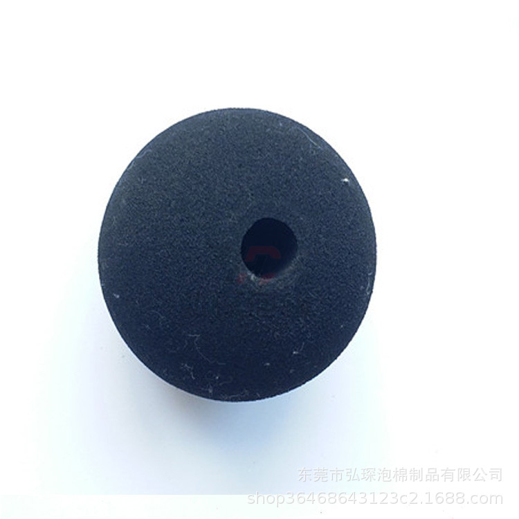Hong Chen Dynamic Fascia Shock Gun Electric Massage Black And White With Pattern Foaming Sponge Ball Eva Polishing Drilling Mass