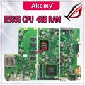 Материнская плата X441SC N15V-GL1-KA-A2 N3050 процессор 4 Гб ОЗУ материнская плата REV2.0 для ASUS X441S X441SC Материнская плата ноутбука 100% протестирована