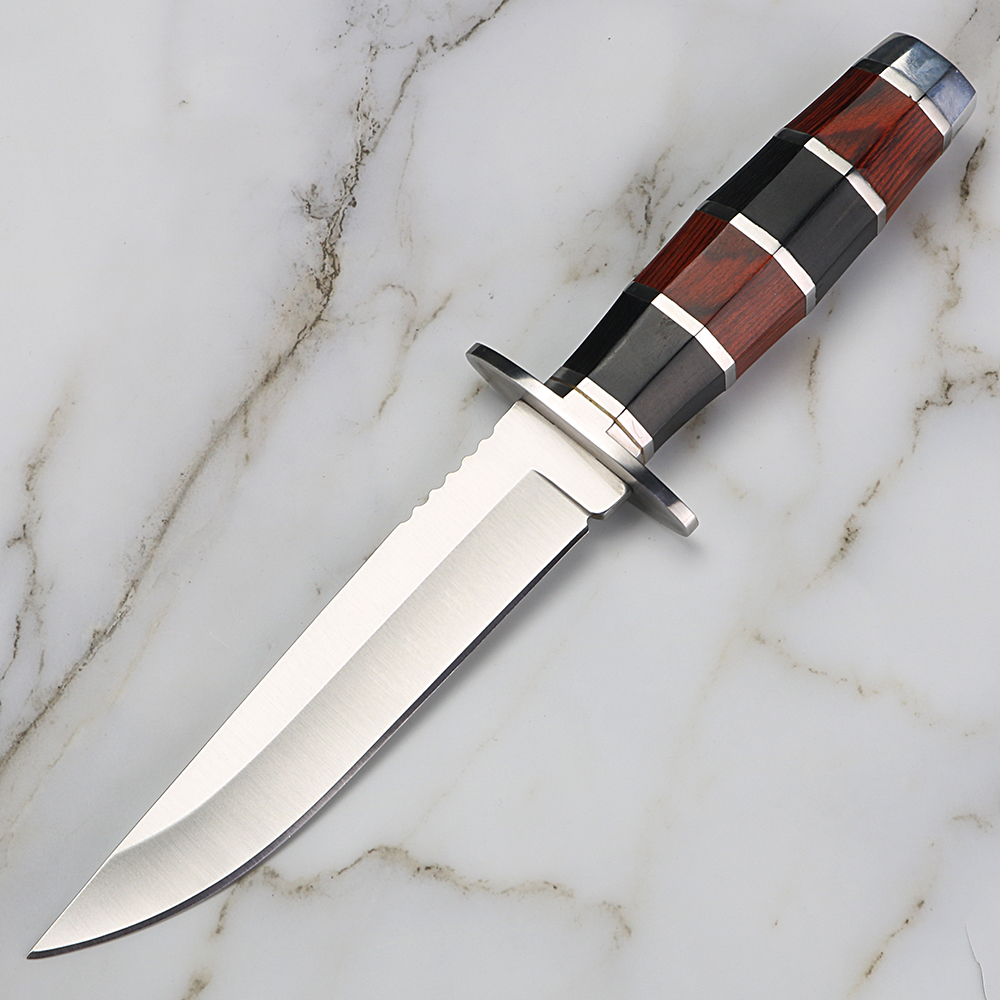 Combat Knife Practical Fixed Blade Camping Knife Outdoor Hunting Survival Knife Rescue EDC Basic Self-defense Tool
