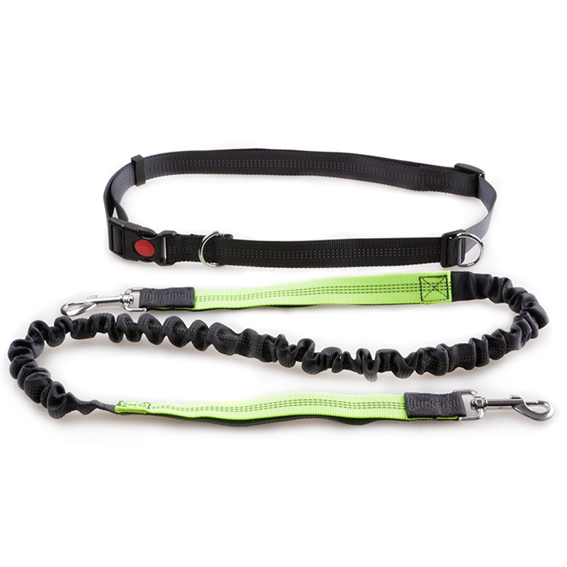 Pet Supplies Small And Medium-sized Dogs Outdoor Running Fitness Nylon Dog Chain Teddy Bichon Reflective Hand Holding Rope