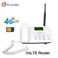 TianJie 4G VoLTE Wifi маршрутизатор беспроводной стационарный голосовой вызов маршрутизатор точка доступа широкополосный стационарный телефон с ...